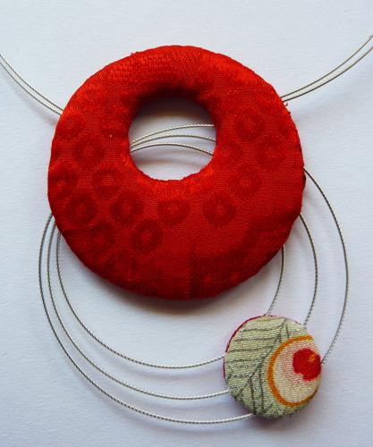 kyoto red neckpiece