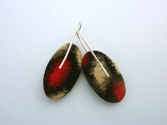 meisen ellipse earrings